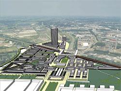 Leidsche Rijn Centrum schets – klein