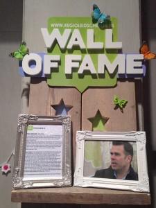 Wall of Fame bovenkant met Vlinderhof