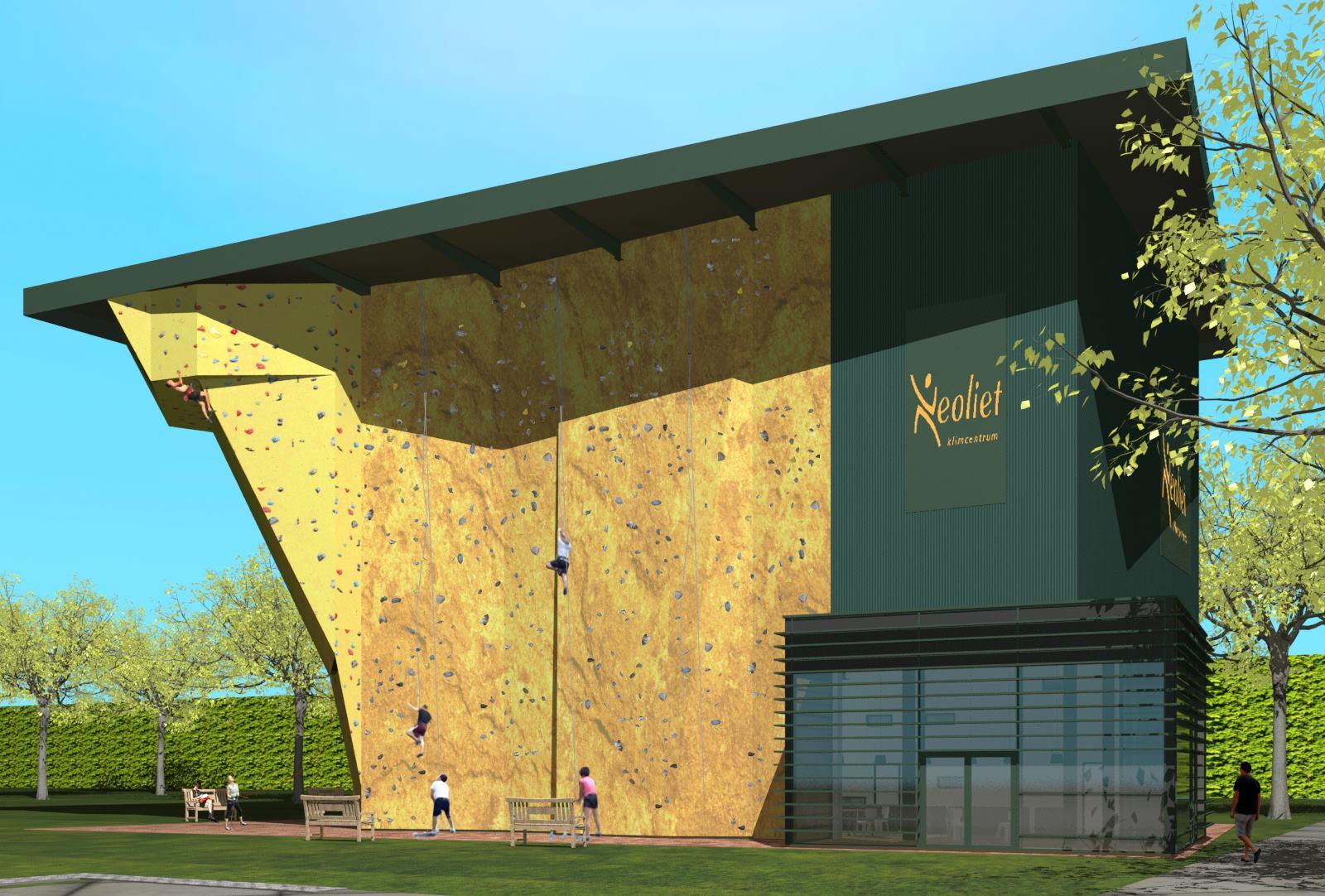 Vrijdag 10 Juli Start Bouw Klim En Bouldercentrum Neoliet