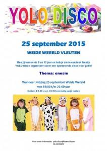 YOLO Disco op 25 september 2015