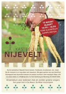 Help met NLDoet op 12 maart 2016 bij Kasteeltuin Nijevelt