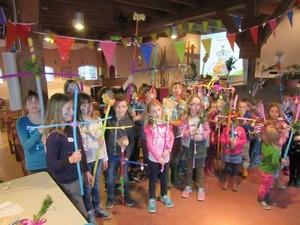 Palmpaasstokkenfeest voor kinderen van 4 tot en met 8 jaar @ Hoef, De