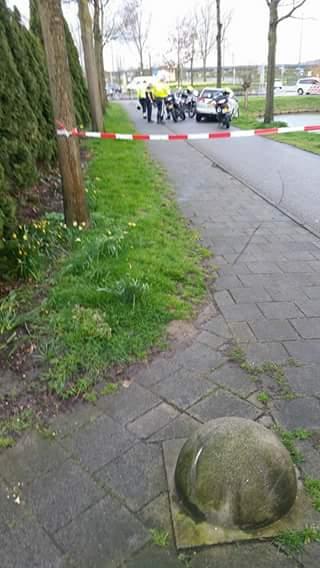 Aanhouding in Vleuten na woninginbraak - afzetting