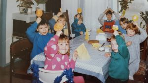 kinderfeestje jaren 80