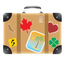 my little suitcase