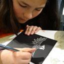 Sumi e inktschilderen in het Atelier @ Atelier Tekenen en schilderen