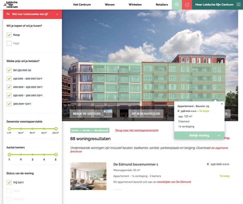 Verkoop eerste woningen leidsche rijn centrum van start op for Huizenverkoop site