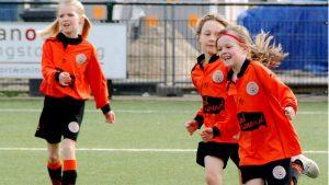 VV De Meern meisjesvoetbal