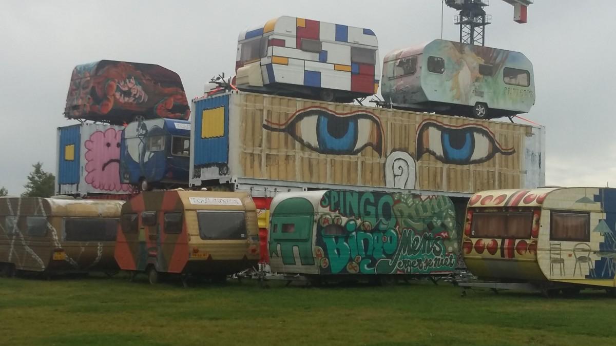 RAUM - caravantoren op het Berlijnplein