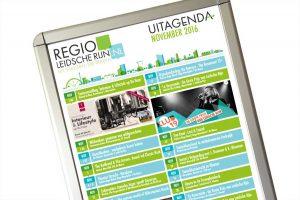 Uit-agenda maandposter en flyer