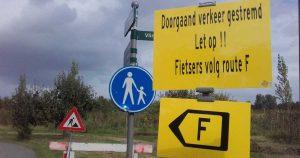 Opmerkelijke-route-F(iets) in het Maximapark