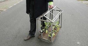 mobiele tuin - uitlaattuin