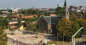 nieuw dorpsplein in De Meern
