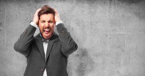 stress en woede