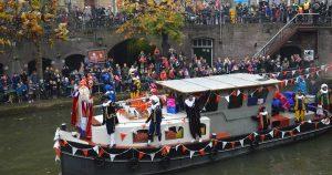 Aankomst-Sinterklaas-in-centrum-Utrecht