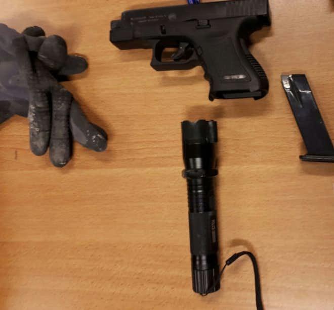 Minderjarigen met wapens aangehouden op bouwplaats