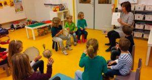 Cursus Muziek en beweging-voor-dreumesen en peuters
