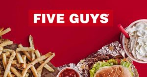 Five Guys in Leidsche Rijn Centrum