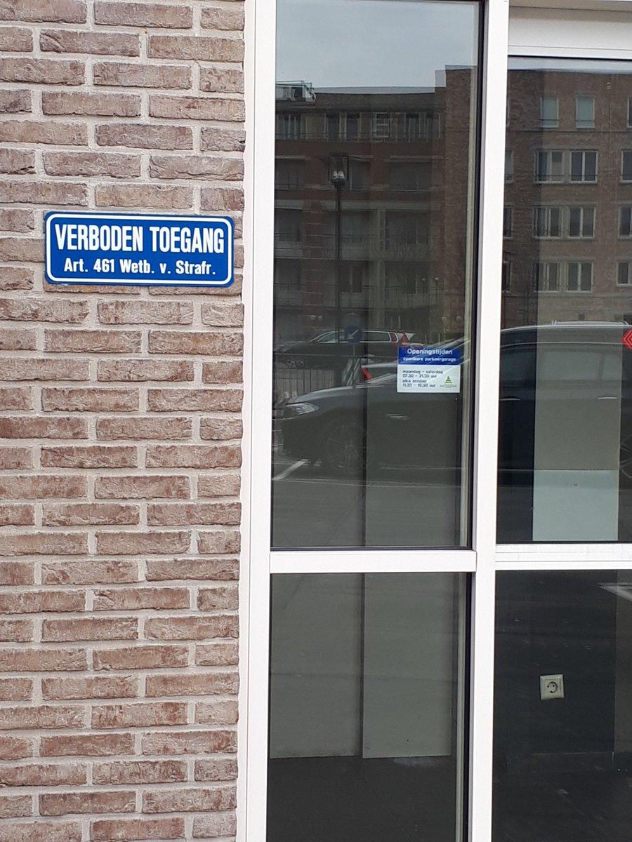 verboden_toegang_parkeergarage_vleuterweide