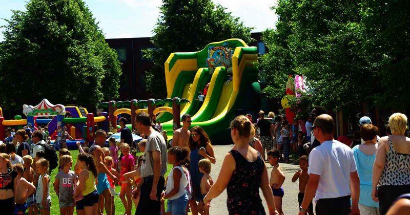 springkussen festival in het Maximapark