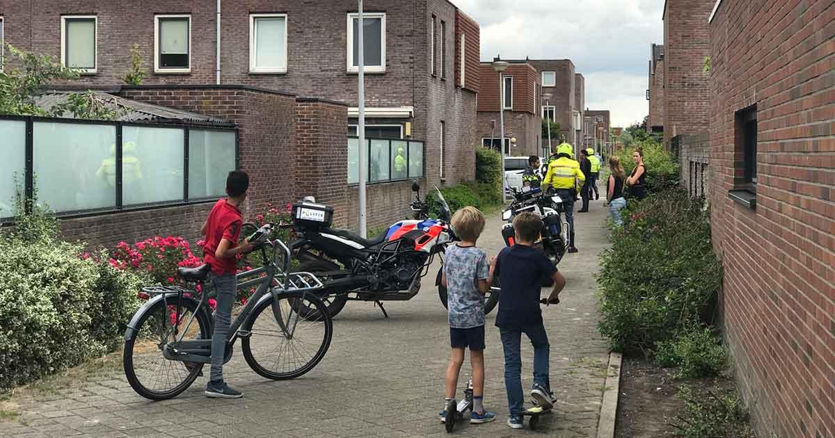 Meerdere-aanhoudingen-met-verzet-in-Veldhuizen_foto_112mediautrecht