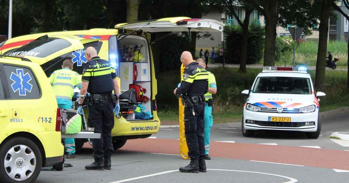 Scooterrijder-geschept-door-auto-in-De-Meern2-foto_112mediautrecht