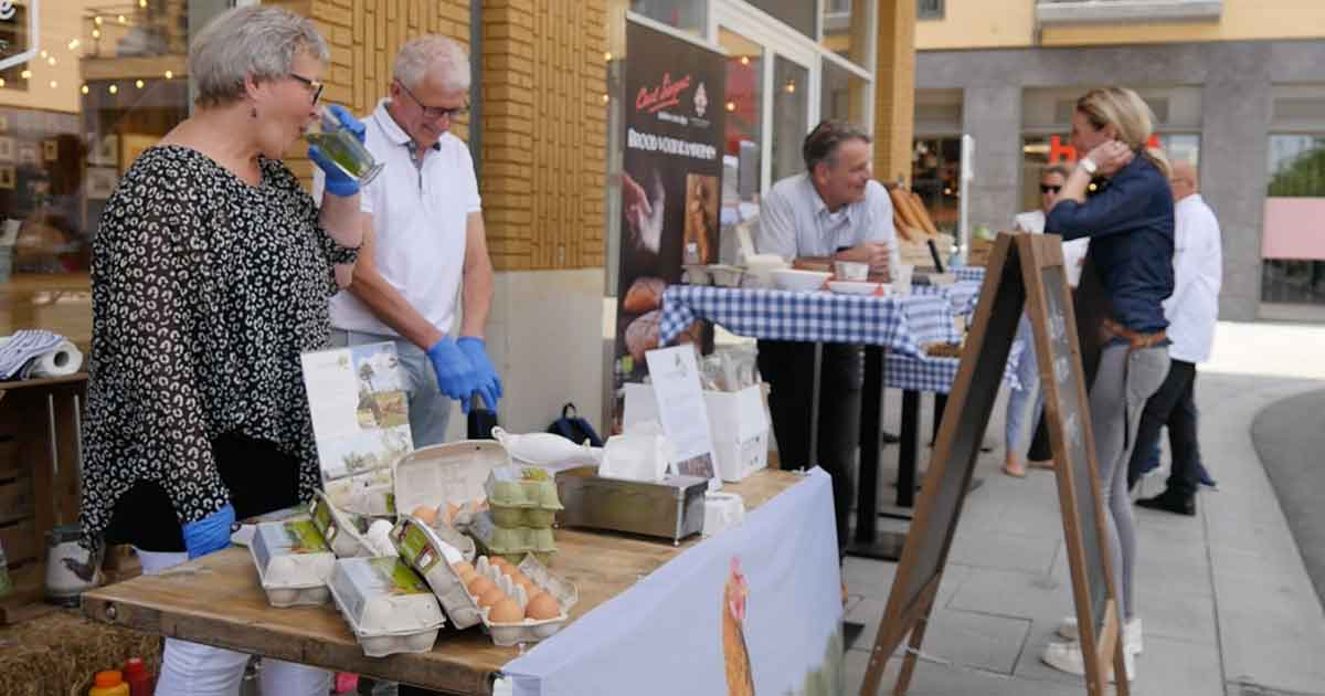Biologische markt Leidsche Rijn Centrum