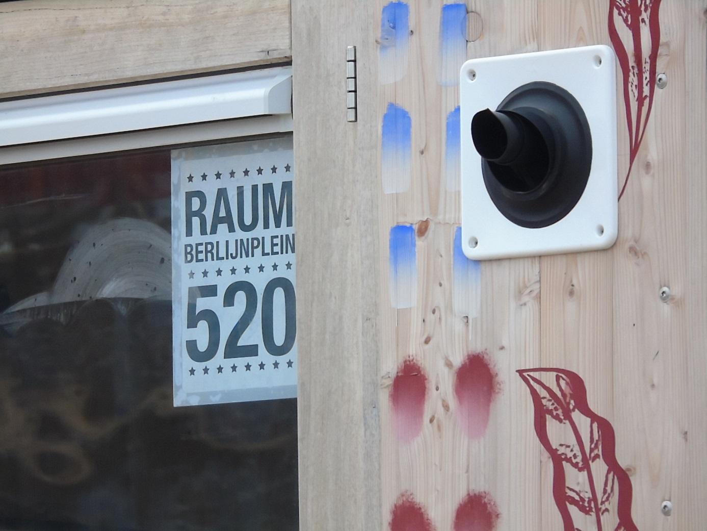 bordje Camping RAUM is Berlijnplein 520