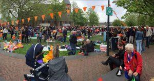 Koningsdag in Vleuten - Foto: Martijn Sierhuis