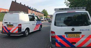 Politie-met-meerdere-eenheden-naar-Veldhuizen-foto_112mediautrecht