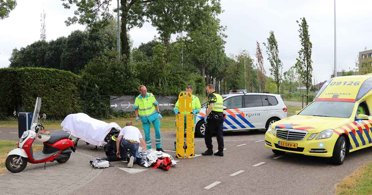 Vrouw-gewond-geraakt-na-val-van-fiets2_foto_112mediautrecht