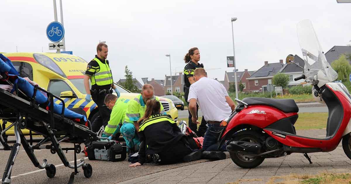 Vrouw-gewond-geraakt-na-val-van-fiets_foto_112mediautrecht