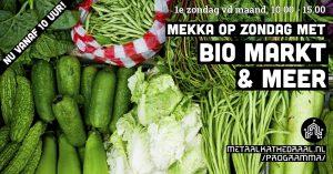 Mekka op Zondag met Bio Markt bij Metaal Kathedraal