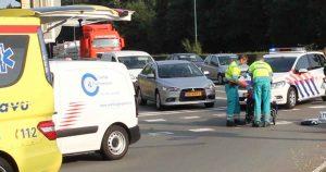 Aanrijding-tussen-auto-en-fiets-in-De-Meern_foto_112mediautrecht