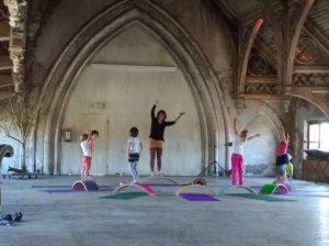 Kinderworkshop Wobbelyoga (4-8 jaar) @ Metaal Kathedraal