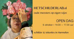 Het SchilderLaB - Open Dag @ Dorpshuis Harmelen