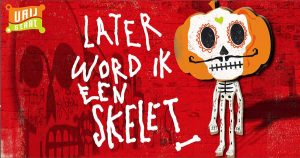 later_word_ik_een_skelet_beeld