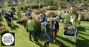 Riek Bakker 'Moeder van Leidsche Rijn' te gast tijdens rondleiding Vlinderhof @ Vlinderhof