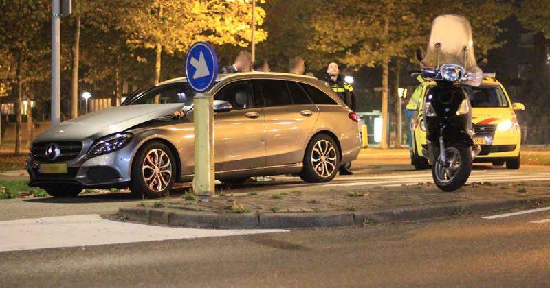 Aanrijding-tussen-auto-en-scooter-in-De-Meern-foto_112mediautrecht