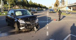 Aanrijding-tussen-twee-auto's-op-de-Vleutensebaan-foto-112mediautrecht