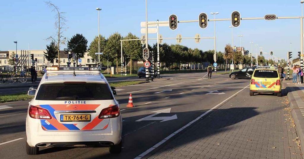 Aanrijding-tussen-twee-auto's-op-de-Vleutensebaan3-foto-112mediautrecht