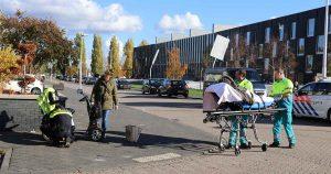 Vrouw-op-scootmobiel-raakt-gewond-na-val-in-Leidsche-Rijn_1_foto_112mediautrecht