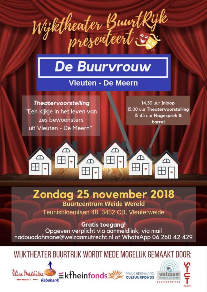 Wijktheater-BuurtRijk-presenteert--De-Buurvrouw-flyer