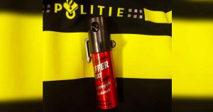 pepperspray - foto politie