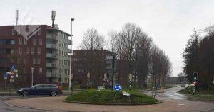 reclamebord_op_rotonde_veldhuizen+omver_gereden