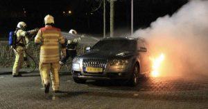 Audi-A6-in-brand-tijdens-jaarwisseling_foto_112mediautrecht