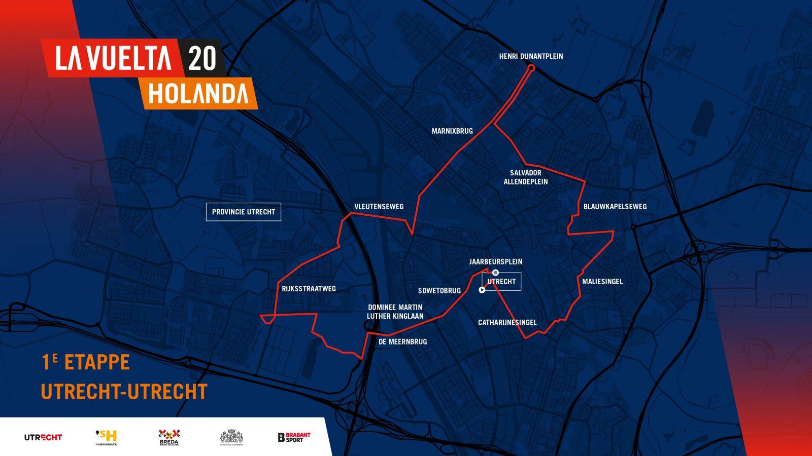 1eEtappe La Vuelta 2020
