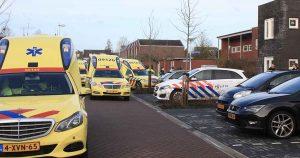 Inzet-traumahelikopter-en-Langerak-vol-ambulances-en-politiewagens-foto-112mediautrecht