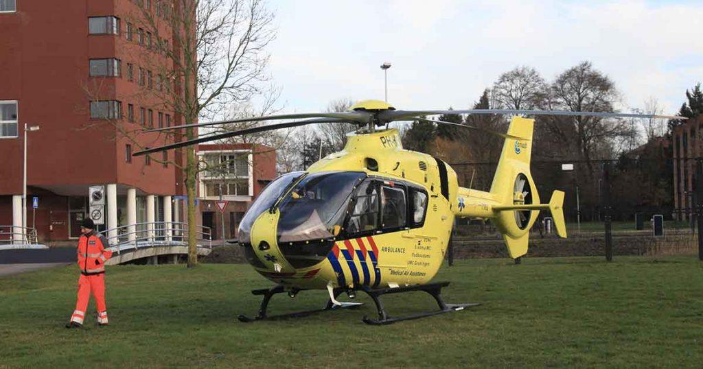 Inzet-traumahelikopter-en-Langerak-vol-ambulances-en-politiewagens2-foto-112mediautrecht