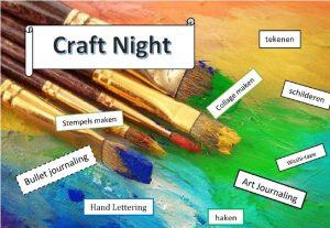 Craft Night @ Buurtcentrum 'Bij de Buren'